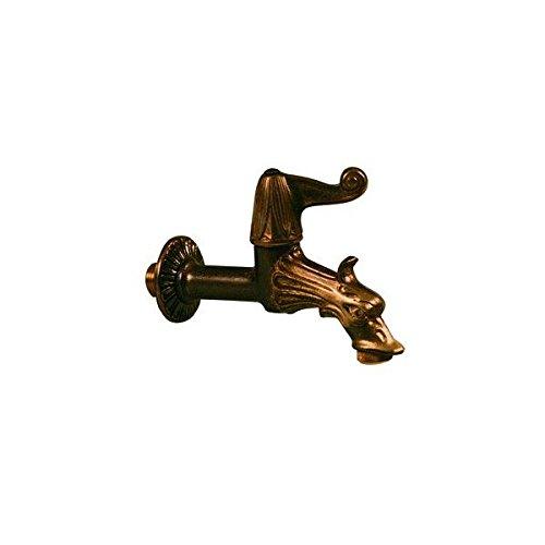 Rubinetti rubinetto artistico in ottone 1/2m.c/ros.adatt.p/gomma