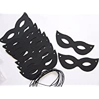 10 Black Card Carnival Masks to Decorate for Kids Crafts | Masks to Decorate