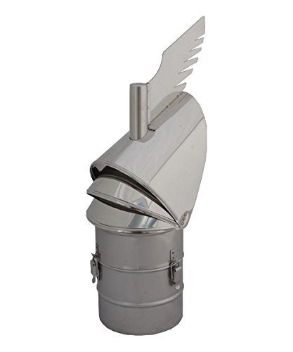 En acier inoxydable Cheminée Rotowent Dragon pour tuyau pour 200mm