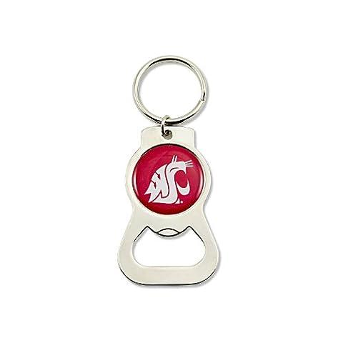 NCAA Washington State Cougars Bottle Opener Key Ring