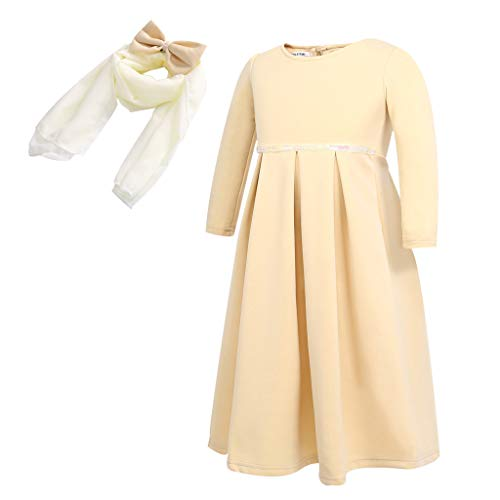 SANFASHION Sommerkleider Kleinkind Baby Kindermädchen Ramadan Muslim Abaya Dubai Robe Traditional ()