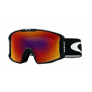 Oakley Herren Sportbrille Lineminer 707002 0 Schwarz (Matte Black/Prizmtorch) 99