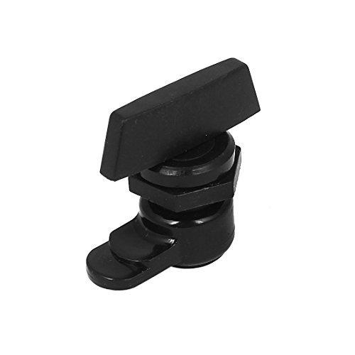 Möbel Schrank 2cm Gewinde Dia Kunststoff Cam Lock Schwarz