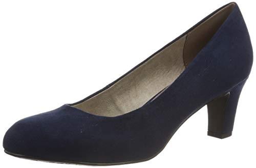 Tamaris Damen 1-1-22418-22 805 Pumps, Blau (NAVY 805), 36 EU - Navy Frauen Schuhe