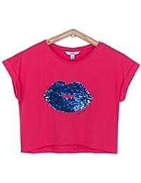 d3a464f3b Tiffosi Camiseta Niña Camiseta Lentejuelas Dobles
