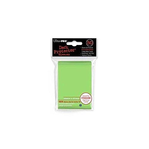Ultra Pro 84099 - Deck-Schutz Standard Sleeves, Lime grün