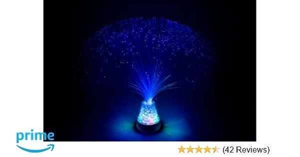 Funtime Lf6680 Fibre Optic Ice Lamp Blue