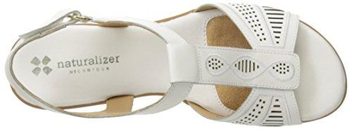 Naturalizer Network Femmes Cuir Sandale white