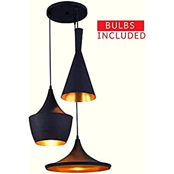 Buy Imper Al Tapper Shaped Wooden Pendant Hanging Ceiling Light Pack Of 2 Online At Low Prices