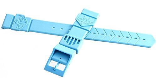 Tag Heuer formula 1gomma blu Watch Band strap 18mm