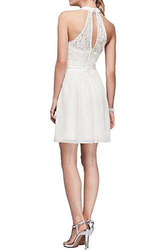 Ivydressing -  Vestito  - linea ad a - Donna Champagne
