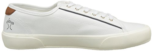 Faguo S1710, Baskets Basses Mixte Adulte Blanc (White)