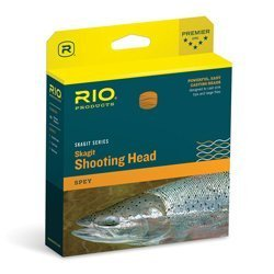 Rio Skagit iflight Shooting Head 575 gr klar Camo/Pale Orange von Rio Marken