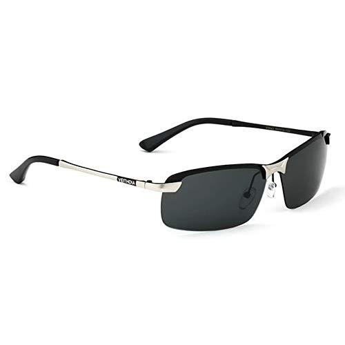 ZHOUYF Sonnenbrille Fahrerbrille Original Brand Logo Designer Fahren Herren Polarisierte Sonnenbrillen Mode Eyewear Uv400 Sonnenbrille, A