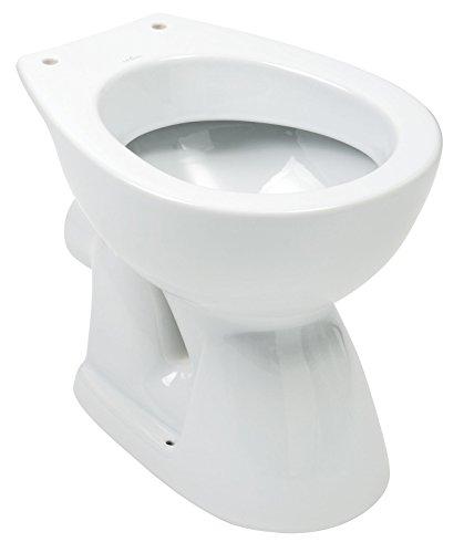 AquaSu 56758 9 Stand-WC, weiß, Tiefspüler/Abgang waagerecht