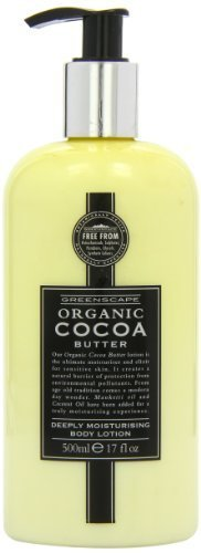 Greenscape Organic Cocoa Butter Deeply Moisturising Hand and Body Lotion 500ml by Somerset Distribution