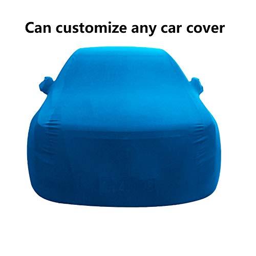 WWcar Auto-Staubschutzhülle for den Innenbereich, kompatibel mit Rolls Royce Phantom Staubdicht (Color : Blue)