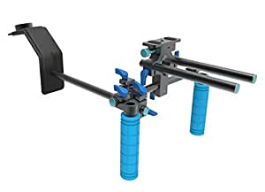 SunSmart DSLR Rig Schulterstativ für DSLR-Rig Stabilizer Foto & Video