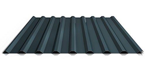 Trapezblech | Profilblech | Dachblech | Profil PS20/1100TR | Material Stahl | Stärke 0,50 mm | Beschichtung 25 µm | Farbe Anthrazitgrau