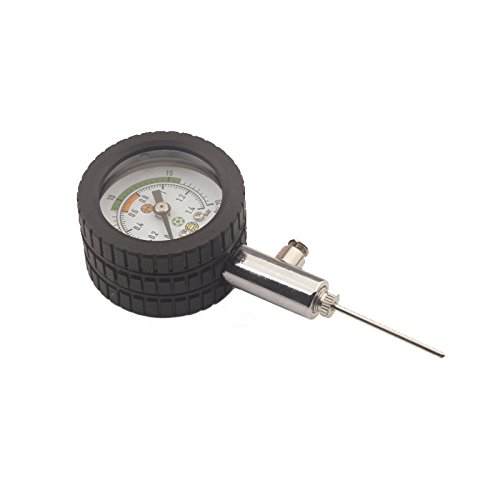 ZXJOY Ball Pressure Gauge With 5 Needles Test and Adjust the Pressure For Football Soccer Rugby ball  Basketball  B
