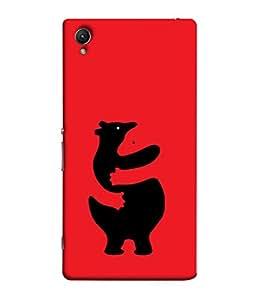 Fuson Designer Back Case Cover for Sony Xperia M4 Aqua :: Sony Xperia M4 Aqua Dual (Teddy Bear Stuff Toys Cuddle )
