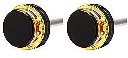1 Paar MOTOGADGET m-Blaze Disc, Links & rechts, schwarz eloxiert, E-geprüft, Stück
