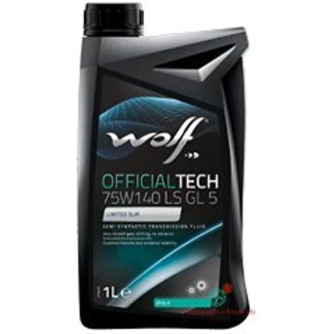 WOLF Olio Cambio/differenziale 1 Litro OFFICIALTECH 75W140 LS (Mustang Differenziale)