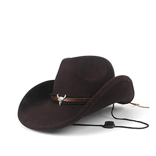 YSINOBEAR Mujeres Hombres Lana Hollow Western Cowboy