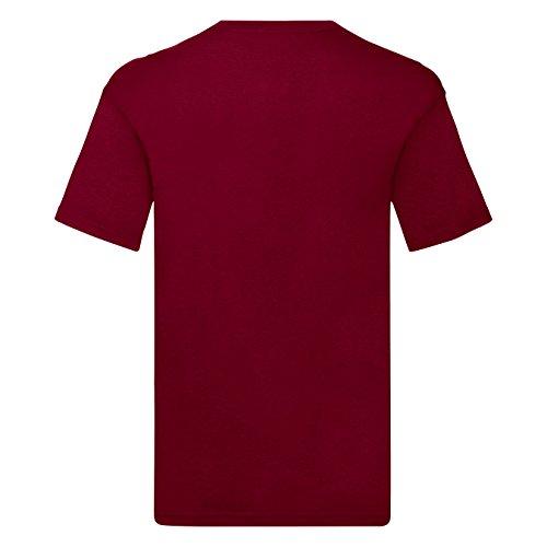Reality Glitch Herren Cobra Kai T-Shirt Burgund