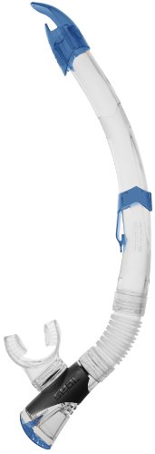 Seac New Fast Tech S / KL Tube mit Silikonmundstück, Unisex, Blau, ohne Größe