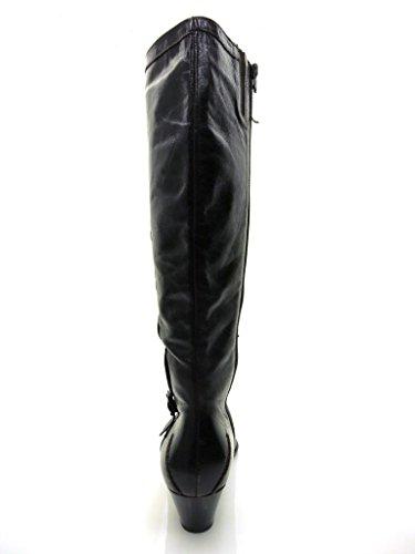 Lamica Lederstiefel Stiefel Damenschuhe Schuhe Leder Braun