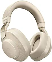 Jabra Elite 85h Over Ear Headphones with ANC and SmartSound Technology - Gold Beige