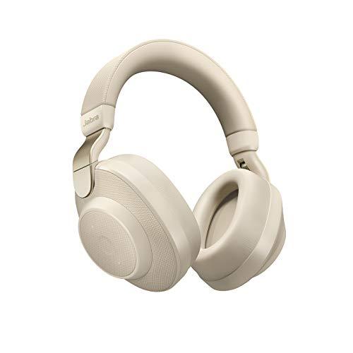 Jabra Elite 85H Auriculares Bluetooth 5.0 con Cancelación de Ruido Activa - Oro y Beige