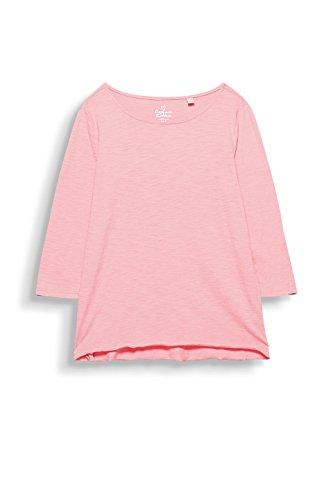 ESPRIT Damen Langarmshirt Rosa (Pink 4 673)