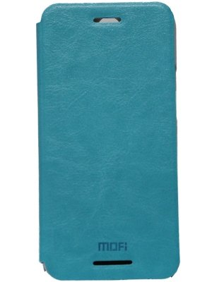 Jo Jo Mofi Leather Flip Cover Case With Slim Back Stand For Htc One (E8) Light Blue  available at amazon for Rs.140