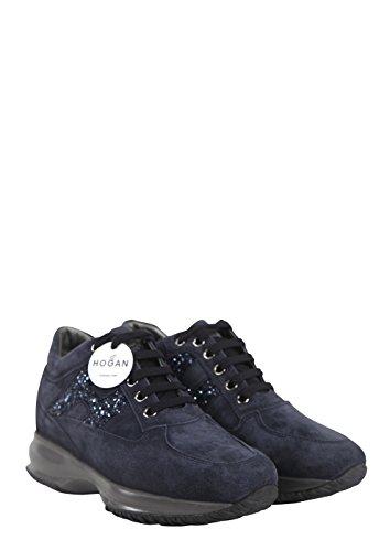 Hogan Interactive Femme Sneaker Chaussures Bleu Article Hxw00n0s3609keu810 4 A15 Bleu