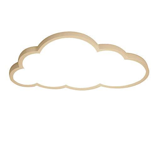 LED Ultradünn Deckenleuchte 2 Zoll Wolken Deckenlampe, Warmes Licht - Hampton Deckenventilatoren
