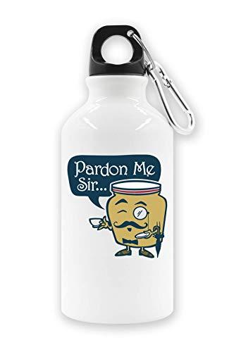 LukeTee Dijon Paron Sir Tourist Wasserflasche