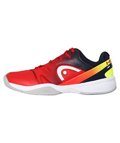 HEAD Jungen Tennisschuhe Indoor Sprint 2.0 Junior rot (500) 35