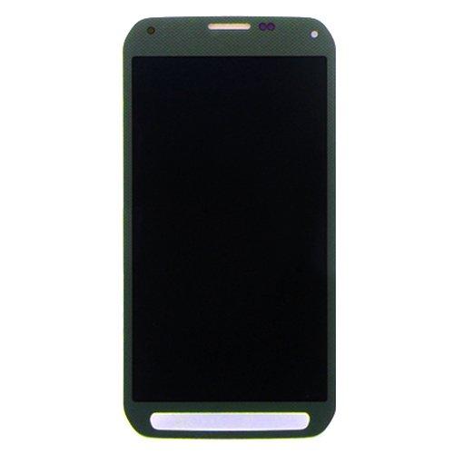 Sevenplusone LCD + Rahmen + Touch Pad + Front Frame Ersatz LCD Display + Touchscreen für Galaxy S5 Active / G870 (grün) Digitizer Full Assembly ForSamsungGalaxy Note