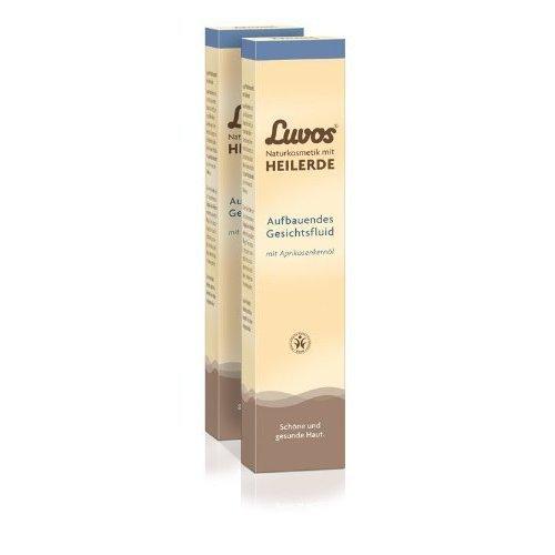 Luvos Aufbauendes Gesichtsfluid (2er Pack) - nährt und pflegt die Haut (2x50ml)
