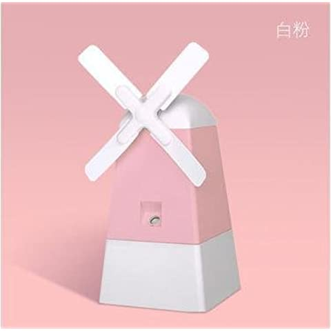 FEI&S The windmill humidifier spray mini charging the humidifier fan ,120*110*121mm , Titanium Dioxide