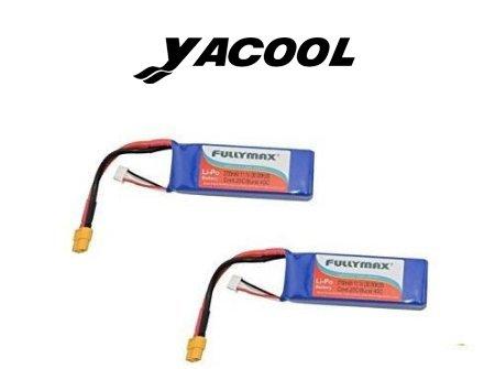 Yacool® Cheerson Piezas de CX-20 2700mah batería Li-po 2