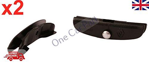 1x Poignée de porte noir intérieur droit 7700415975 pour RENAULT KANGOO SCENIC I CLIO 2