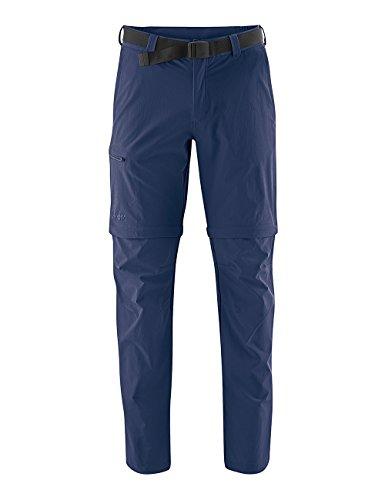 Maier Sports Herren Tajo 2 Wanderhose Zipp-Off, Dark Blue, 50