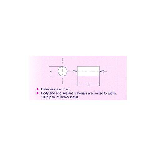 CERDO DE LA ESPUMA DE LA LIMPIEZA DE LA TUBERIA DE DIAMETRO NOMINAL DE 15 MM - PAQUETE DE 10 TAMAñO DEL PAQUETE: 1