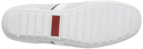 Hugo Thatoz 10158002 01, Baskets Basses homme Blanc - Weiß (open white 125)