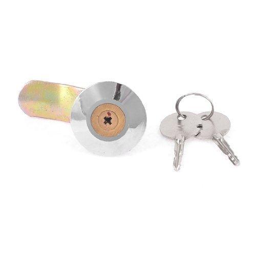 Drehen Winkel 90Grad Locking Cam Lock für Schrank Schreibtisch W 2Schlüssel