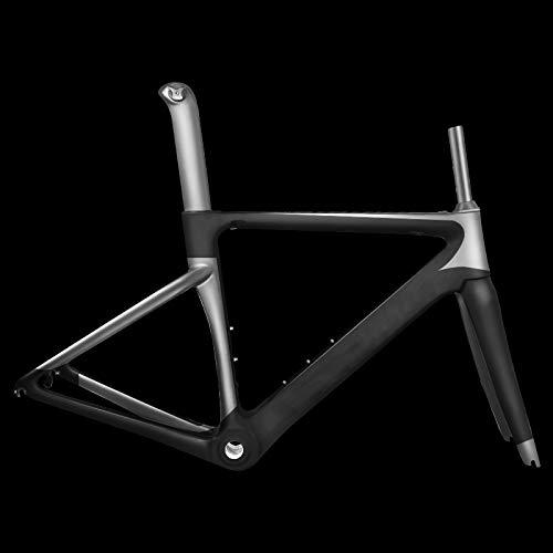 Telaio in fibra di carbonio per bici da corsa in fibra di carbonio 2019 nuovo lucido opaco per telaio meccanico DI2,56cm