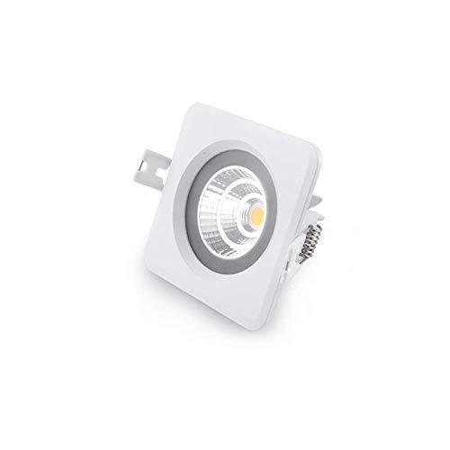 WPOLED IP65 Empotrable Impermeable Cuadrado LED Foco de Techo Lámpara de baño...